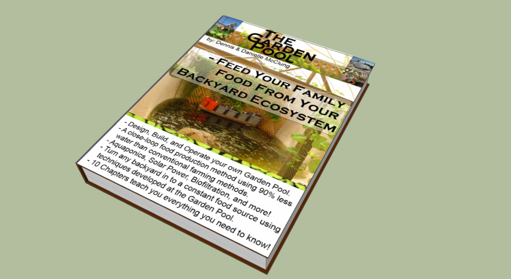 Aquaponics advice page 126 for Garden pool book