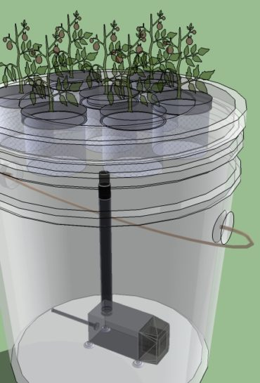 5 gallon aeroponics